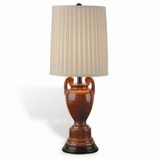 Port 68 Palio Sienna Table Lamp with Gold Flecks in Sienna Red
