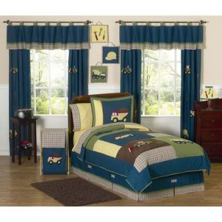 Sweet Jojo Designs Construction Zone Kid Bedding Collection