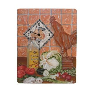 Lexington Studios Roosters Large Wall Clock