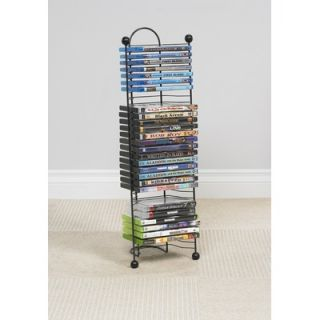Atlantic Element DVDs and Blu Rays Multimedia Storage Rack