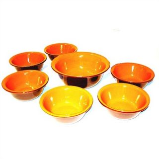 Piral 7 Piece Pasta Bowl Set   Bowl Set