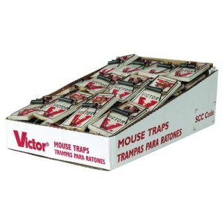 Victor Pest Metal Pedal Mouse Trap Bulk 72