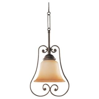 Lighting Brandywine 1 Light Fluorescent Mini Pendant   69031BLE 71