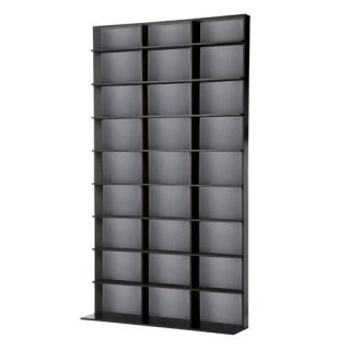 Wood Shed 400 Series 104 CD Wall Mounted Multimedia Storage Rack
