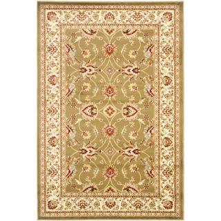 Safavieh Lyndhurst Green/Ivory Persian Rug   LNH553 5212