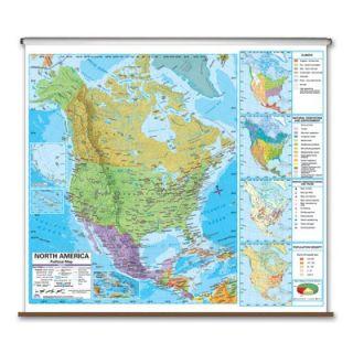 Universal Map Advanced Political Map   North America