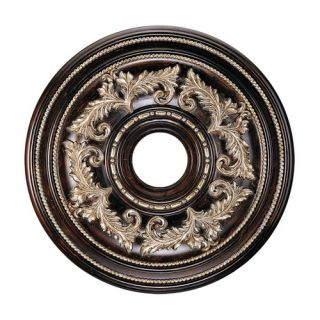 Quorum Marcela Small Ceiling Medallion in Oiled Bronze   7 6131 86