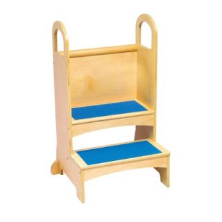 Guidecraft High Rise Wooden Step Stool