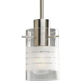 Progress Lighting 1 Light Stem Hang Mini Pendant   P5158 09