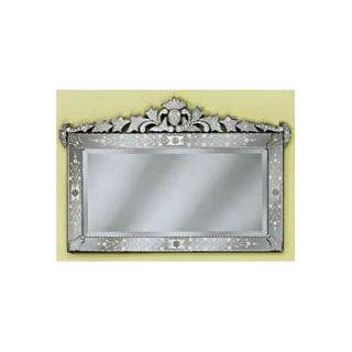 Venetian Gems Loreta Large Mirror   VG 022 Clear