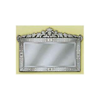 Venetian Gems Loreta Large Mirror   VG 022 Clear