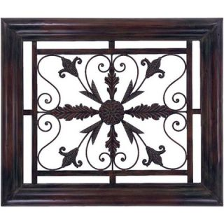 xl tuscan iron scroll wall grille candle holder grill. Black Bedroom Furniture Sets. Home Design Ideas
