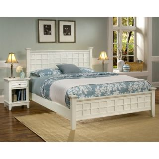 Home Styles Arts and Crafts Queen Panel Bed   88 5182 500