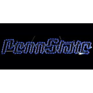 American Lighting LLC Penn State NCAA Lighting Motif Rope Light