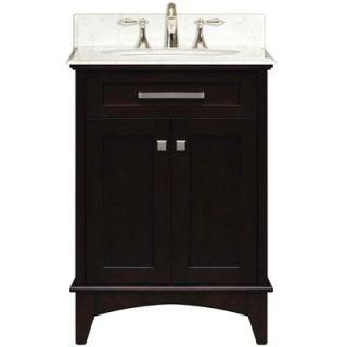 Water Creation Manhattan 24 Single Sink Vanity   MANHATTAN24