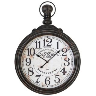 Aspire 39 Pocket Watch Style Large Wall Clock