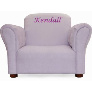 Little Furniture Personalized Kids Microsuede Mini Chair 103