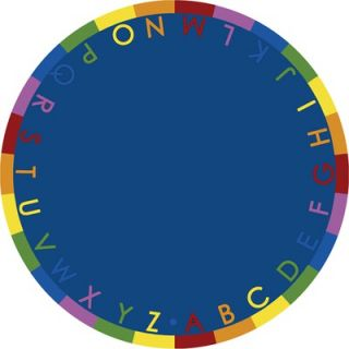 Joy Carpets Educational Rainbow Alphabet Kids Rug