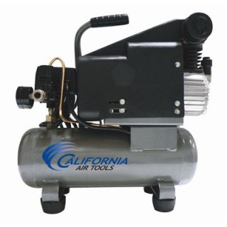 California Air Tools 116DLH 1.0 Hp, 1.6 Gal. Steel Tank Oil