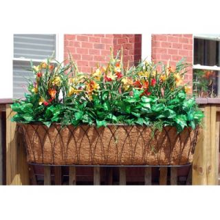 Creek Designs Nelumbo Rectangular Window Box Planter   111 box