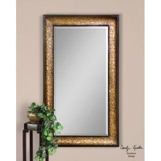 Ashton Sutton Fluent Round Metal Wall Mirror