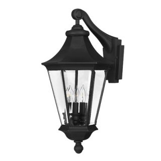 Hinkley Lighting Senator Outdoor Wall Lantern in Black