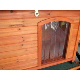 Crown Pet Products Slant Roof Cedar Dog House