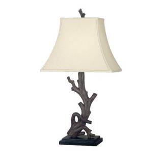 Kenroy Home Drift One Light Table Lamp in Wood Grain   21049WDG
