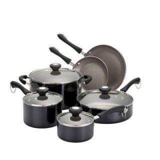 Paula Deen Porcelain Enamel Aluminum 10 Piece Cookware Set