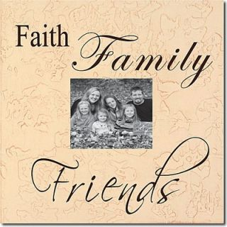 Forest Creations Faith, Family, Friends Memory Box