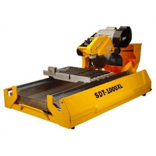 SawMaster 125 lb 1   1/2 Hp 10 Wet Tile Saw with Transportation