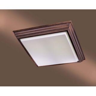 Minka Lavery 4 Light Square Flush Mount   1000 126 PL