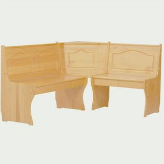 Linon Chelsea Solid Wood Corner Kitchen Bench   90366N2 01 KD U