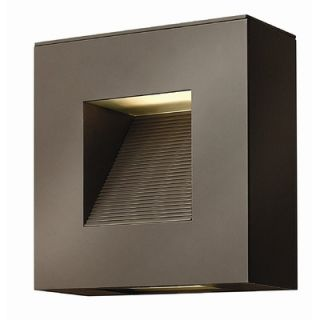 Hinkley Lighting Atlantis Small Outdoor Wall Lantern in Bronze