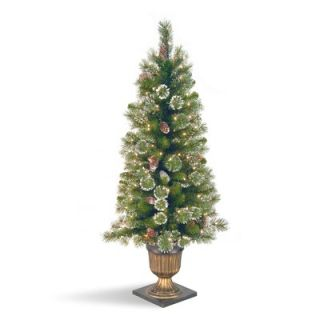 National Tree Co. Glittery Pine Pre Lit 4 Entrance Tree   GP1 329