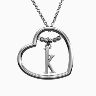 Solstice Design Studio Love Letters Necklace with 2 Initials   LL 1