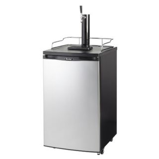 Haier Stainless Steel BrewMaster Dual Tap Beer Kegerator