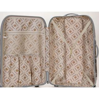 Rockland Atlantis 3 Piece Polycarbonate/ABS Luggage Set
