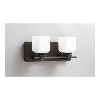 PLC Lighting Modena Vanity Light in Oil Rubbed Bronze   942 Matte