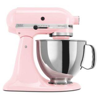 KitchenAid Artisan Series 5 Quart Tilt Head Stand Mixer in Komen Pink