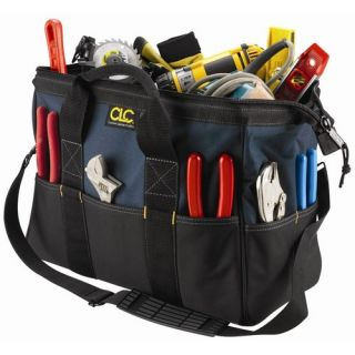 CLC Tool Bag 22 Pocket   16 Large BigMouth Bag 10 H x 16 W x 8 1