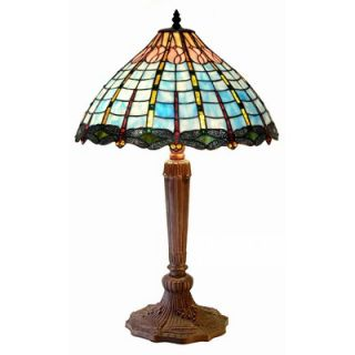 Warehouse of Tiffany Dragonfly Accent Table Lamp   2842+BB589