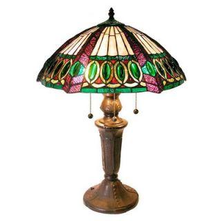 Warehouse of Tiffany Mission Jewel Table Lamp   1772+BB475