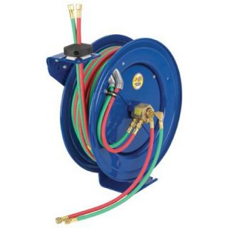 Hose Reels   safety series dual hosespring rewind reel   EZ SHW 150