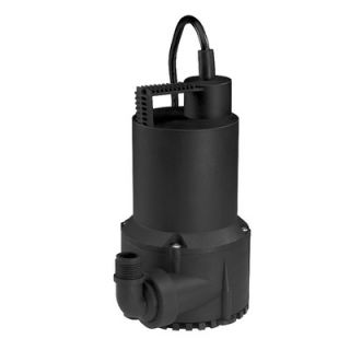 Wayne Water Systems 1/6 HP Oil Free Thermoplastic Submersible Utility