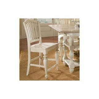 Universal Furniture Great Rooms Bergere Counter Chair in Distressed
