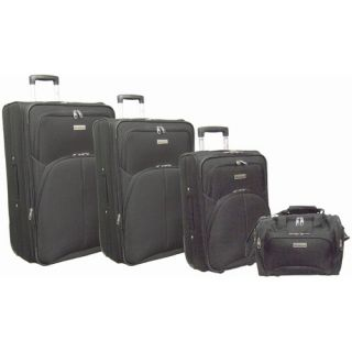 Super Lightweight 4 Piece Upright Luggage Set