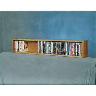 Wood Shed 100 Series DVD Multimedia Tabletop Storage Rack