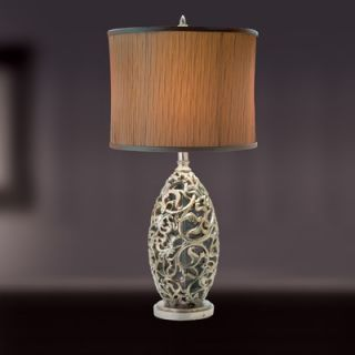 Eurofase Lanni One Light Table Lamp in Silver   14905 018