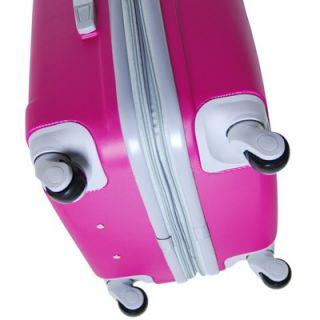 CalPak Valley 3 piece ABS Expandable Hardside Luggage Set